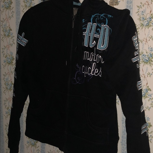 Harley-Davidson Jackets & Blazers - Harley Davidson zip up sweater